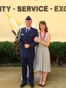 Congratulations to Lieutenant Danny Beaulieu for graduating top of his class in his Air Force Commissioned Officer Training (COT)! He also received a trophy for being the top officer and is well on his way to becoming a judge advocate.