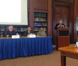 Prof. Dunlap spoke at the Naval War College on Feb. 27th about the situation with North Korea.