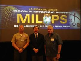 Prof. Dunlap spoke on autonomous weapons on June 27th in Bangkok