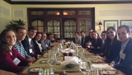 Duke Law students lunch with Avril Haines on Sept 25th, deputy NSC advisor during the Obama administration