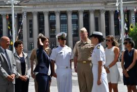 On June 13th Ms. Shannon Welch '17 took her commissioning oath to become ENS Shannon Welch, US Navy.