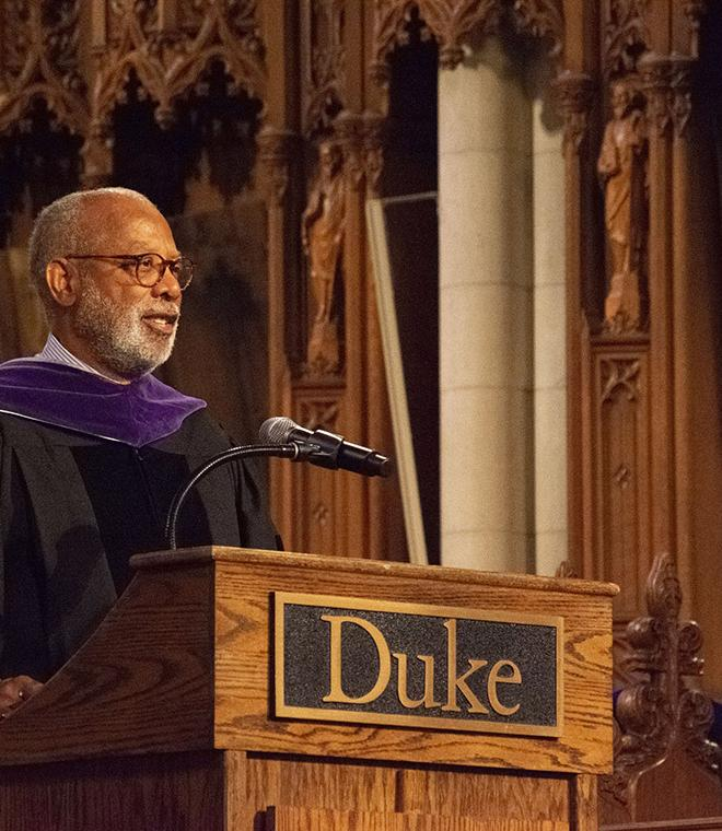 James Coleman at Convocation 2019