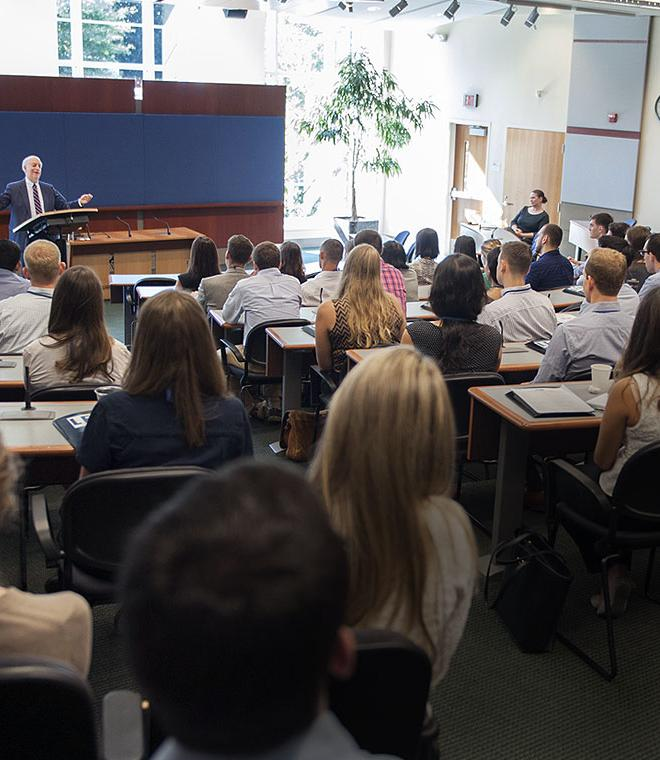 Dean David F. Levi welcomes the Duke Law Class of 2019