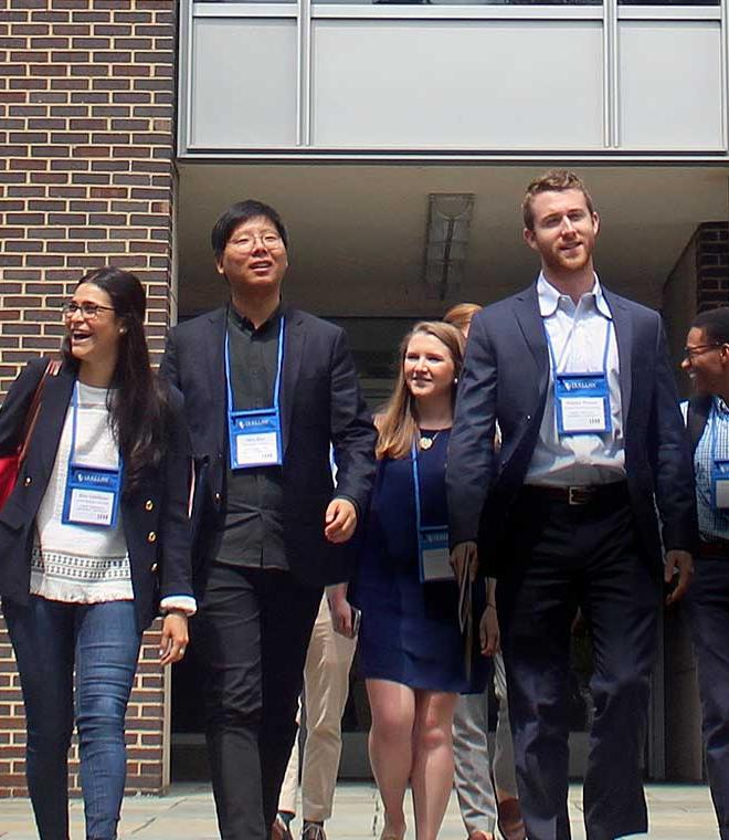 Duke Law students at orientation
