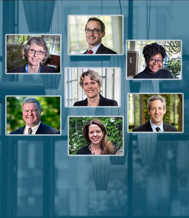 Duke Law's 2018 Distinguished Chair recipients