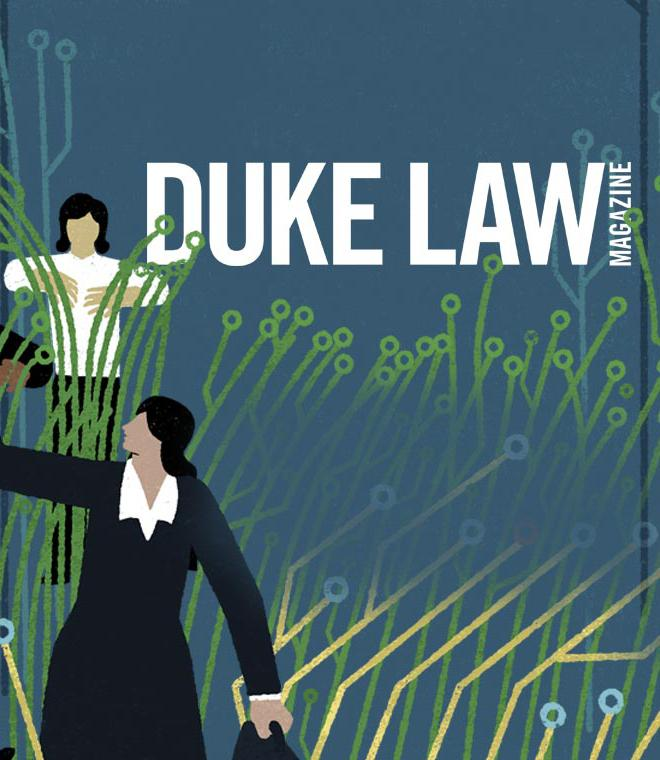 Duke Law Magazine Spring 2019 Issue cover