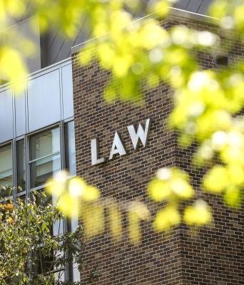 Duke Law School building