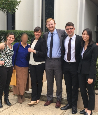 Duke Law Immigrant Rights Clinic team