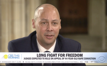 Professor Jamie Lau '09, lead counsel for Ronnie Long, discussed the case on CBS This Morning in July.
