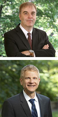 Professors Ernest Young and Neil Siegel