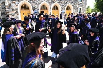 Duke Law graduation 2021