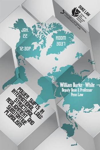 William Burke-White Lecture