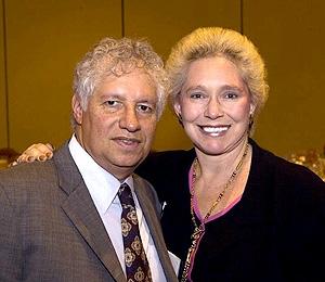 Leonard Simon and Candace Carroll