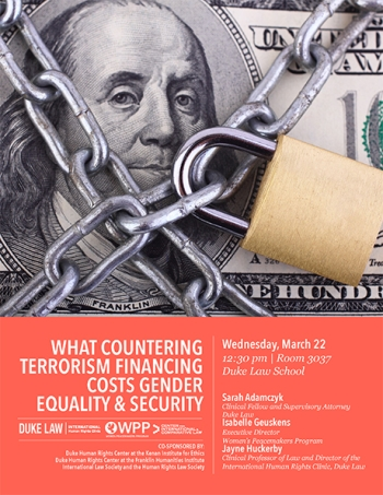 What Countering Terrorism Financing Costs Gender Equality and Security