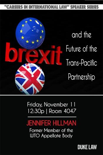 Jennifer Hillman Lecture 11/11