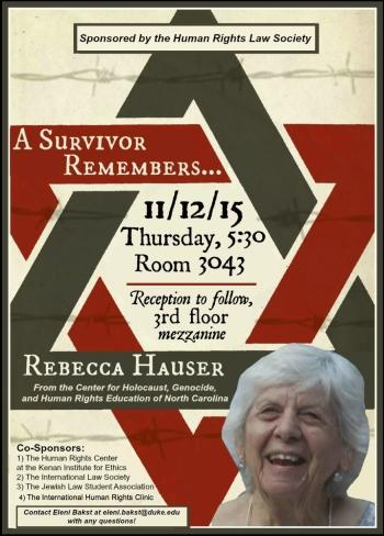 Rebecca Hauser Lecture