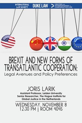 Joris Larik Lecture 11/8/17