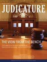 Duke Law assumes publication of Judicature