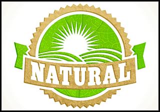 """A """"Natural"""" food label illustration"""