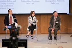 Steven Schwarcz, Sarah Bloom Raskin, and James Cox