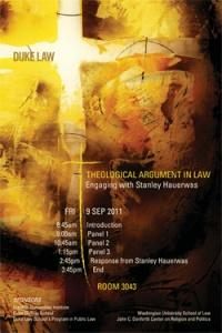 Theological Argument in Law: Engaging with Stanley Hauerwas promo image
