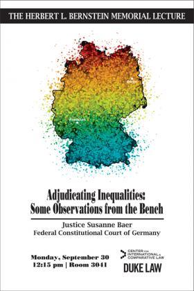 Justice Susanne Baer Event Poster