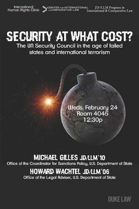 Security at What Cost? Lecture