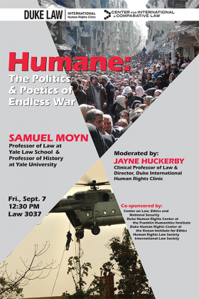 Humane: The Politics and Poetics of Endless War