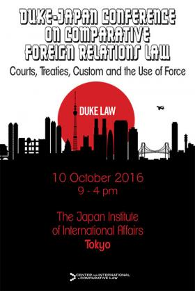 Duke-Japan Conference on Comparative Foreign Relations Law