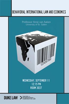 van Aaken Lecture Poster